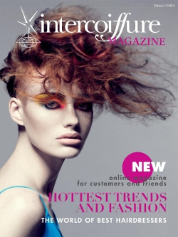 intercoiffure magazine 2013 cover